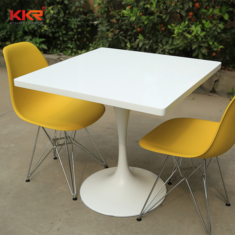 KKR Stone surface acrylic solid surface table tops-2