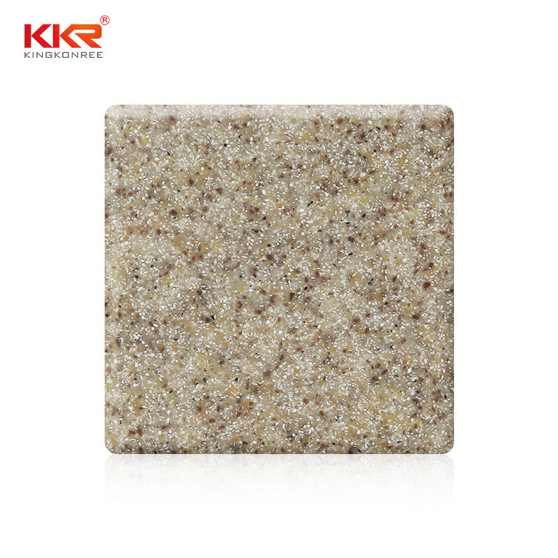 Sand Color Modified Acrylic Soild Surface Sheets KKR-M1609