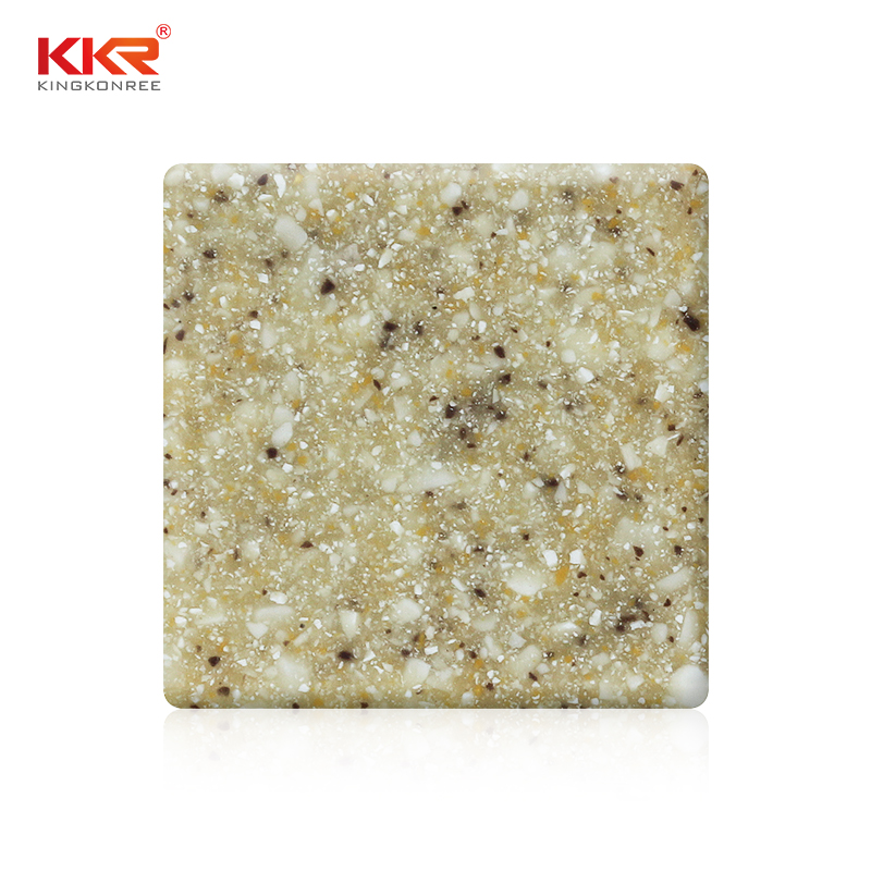 KKR Stone easily repairable solid surface acrylics superior bacteria for bar table-1
