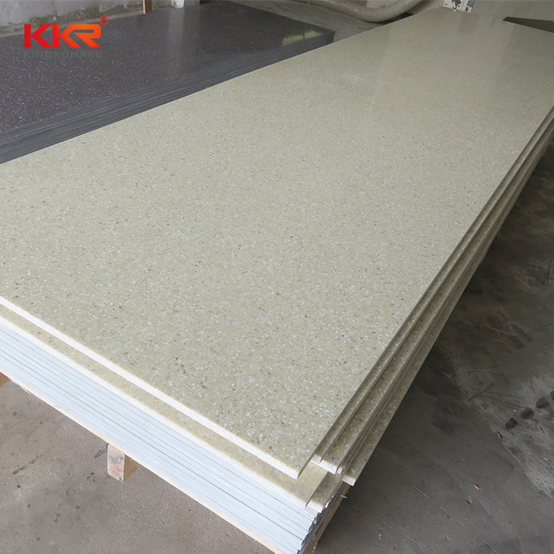 KKR Stone soild solid surface factory superior stain for garden table-2