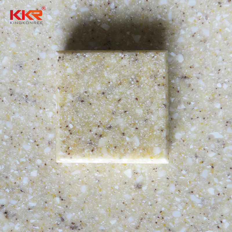 KKR Stone No bubbles solid surface factory superior chemical resistance for kitchen tops-2