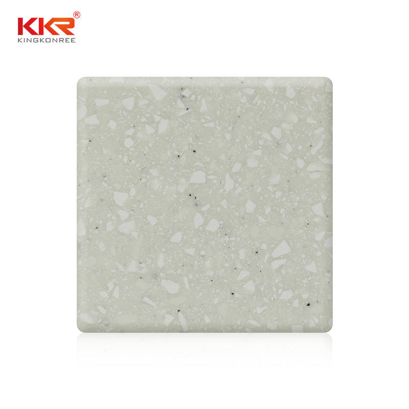 Modified Acrylic Solid Surface With Chips KKR-M1612