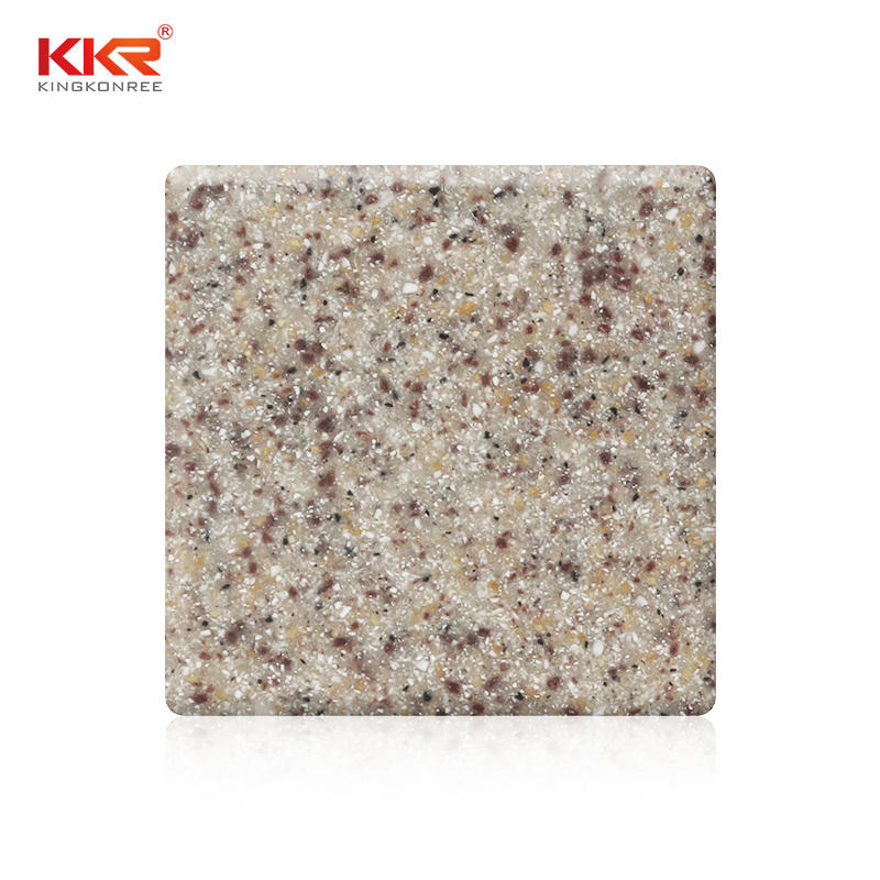 Sand Color Acrylic Solid Surface Sheets KKR-M1620