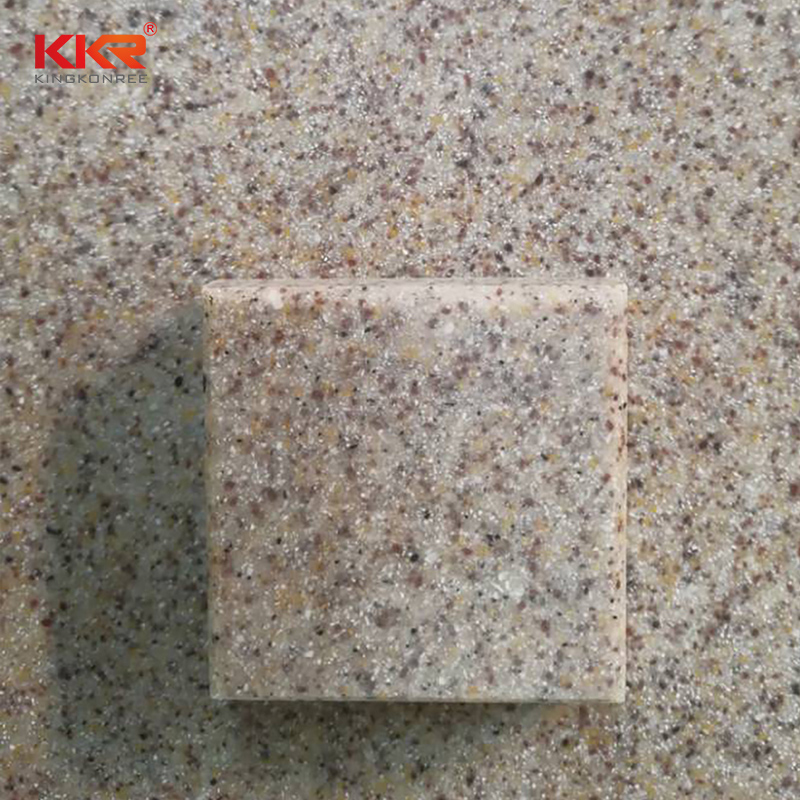 KKR Stone No bubbles modified acrylic solid surface superior chemical resistance for worktops-2