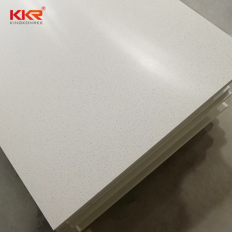 KKR Stone sheets modified solid surface superior stain for garden table-2
