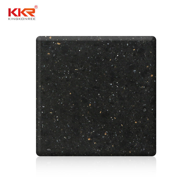 Sparkle Chips Acrylic Solid Surface Sheet KKR-M1637