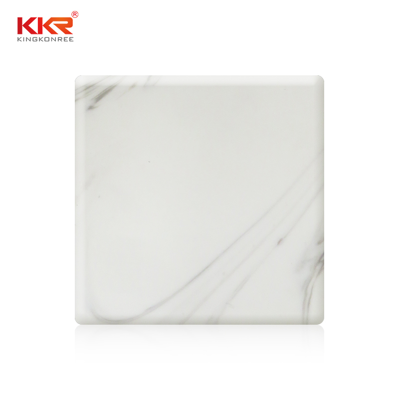 KKR Stone decorative corian solid surface sheet factory for home-1