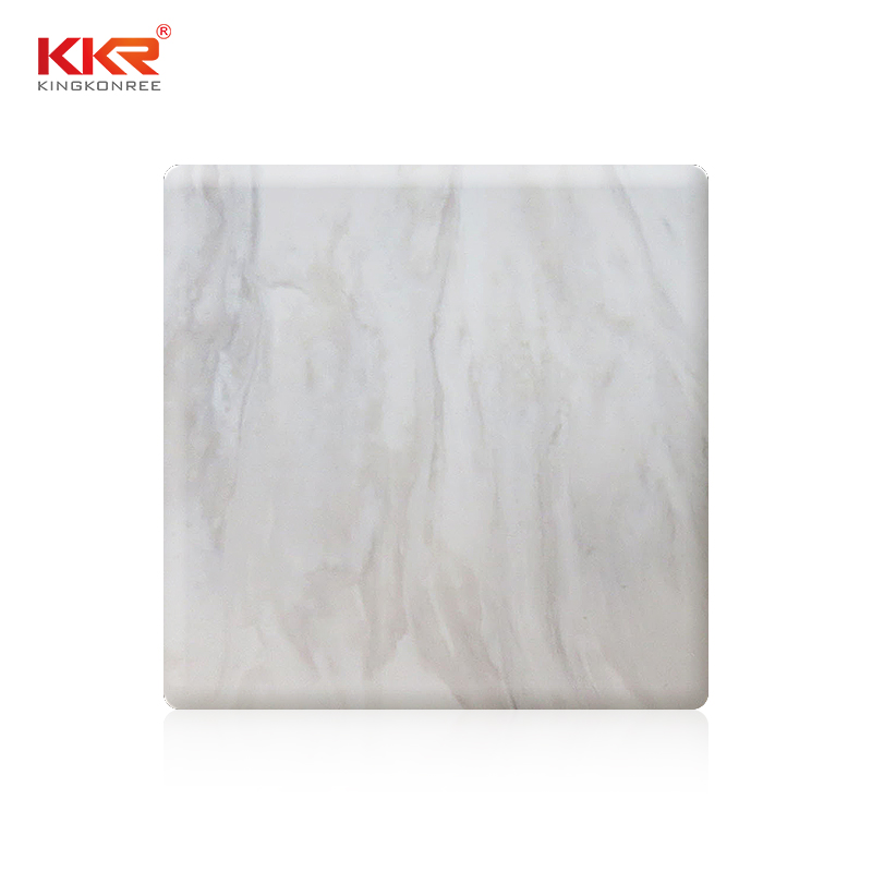 KKR Stone arycli solid surface slab effectively for building-1