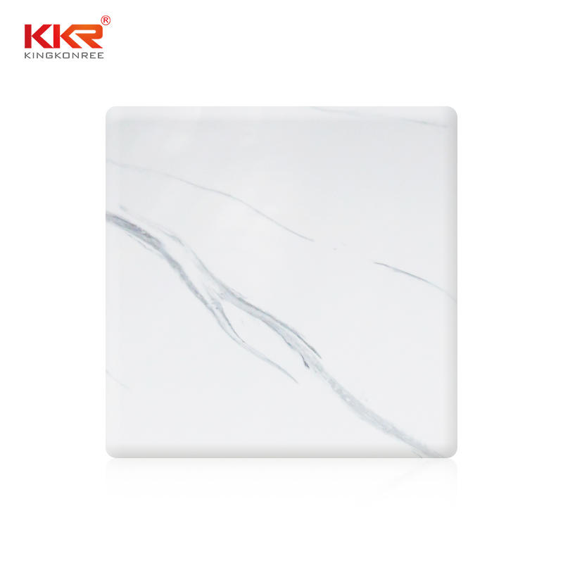 Marble Pattern Modified Acrylic Solid Surface Sheet KKR-M8819