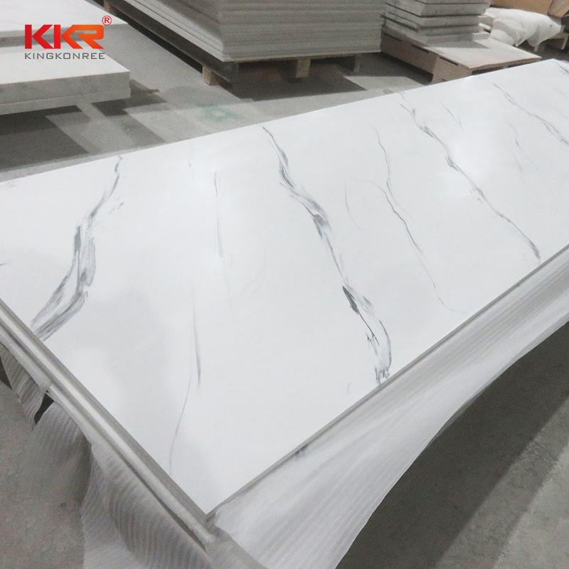 KKR Stone flame-retardant veining pattern solid surface effectively furniture set-2