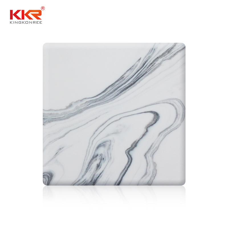 KKR Stone surface corian solid surface sheet factory for garden table-1