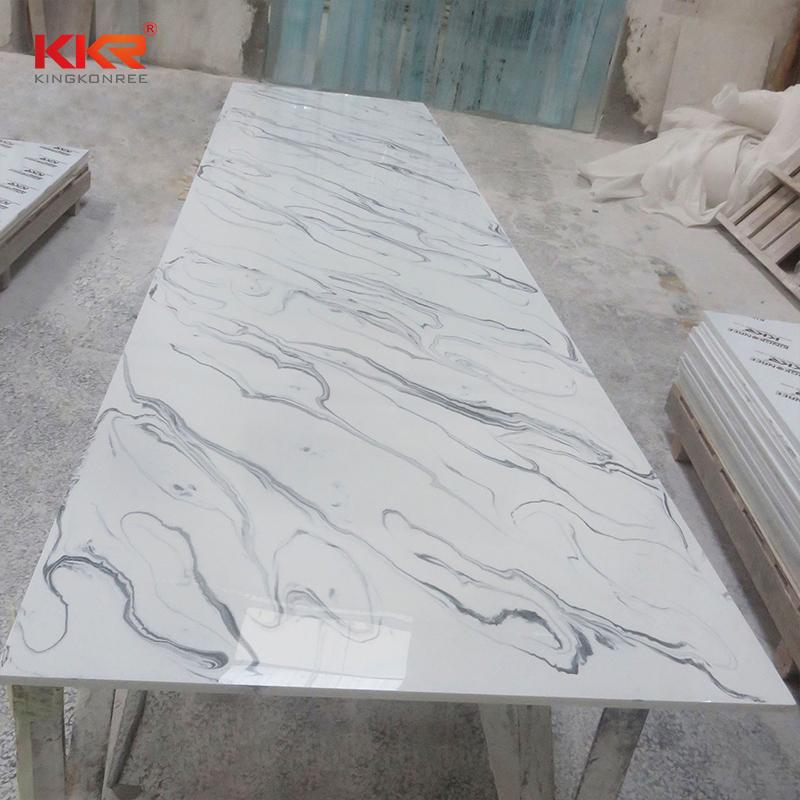 KKR Stone pollution free solid surface slab vendor for home-2