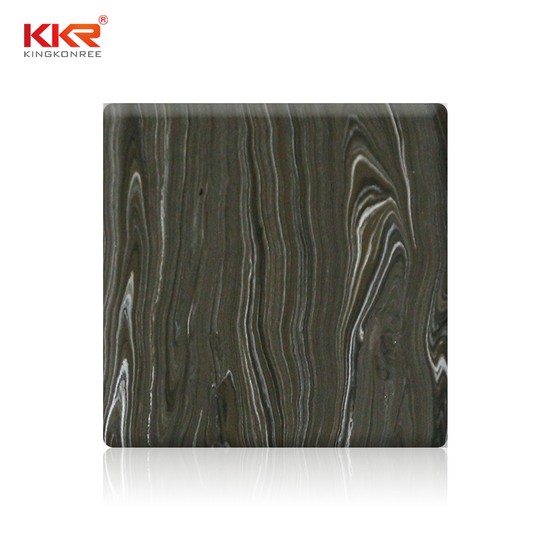 KKR Stone pollution free solid surface panels in good performance for building-1