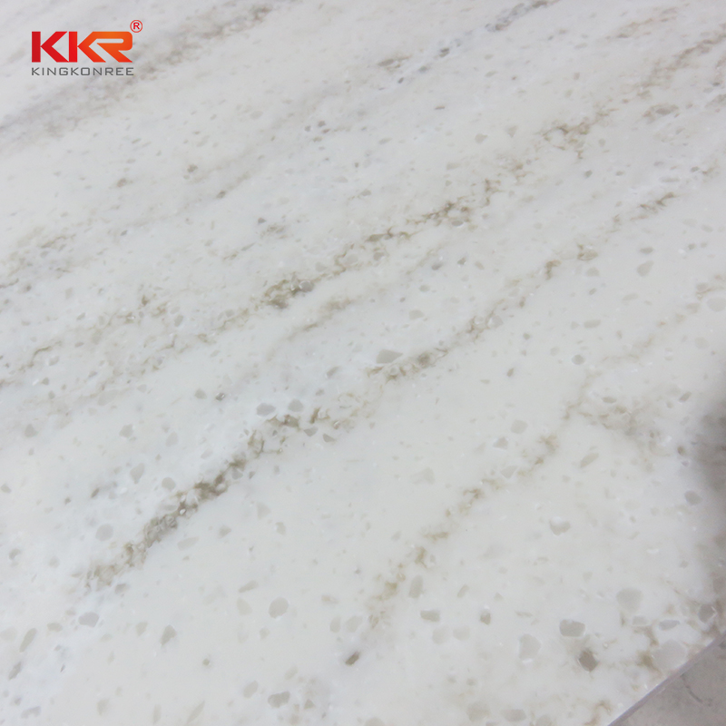 KKR Stone high strength solid surface slab factory for bar table-2