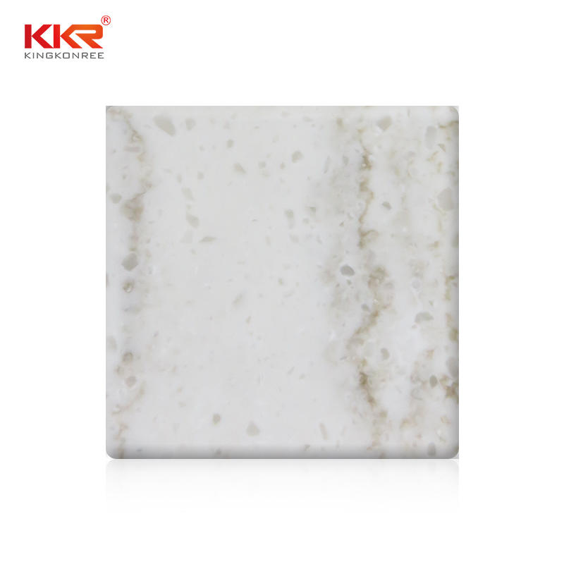 Modified Texture Marble Pattern Solid Surface Sheets KKR-M8826