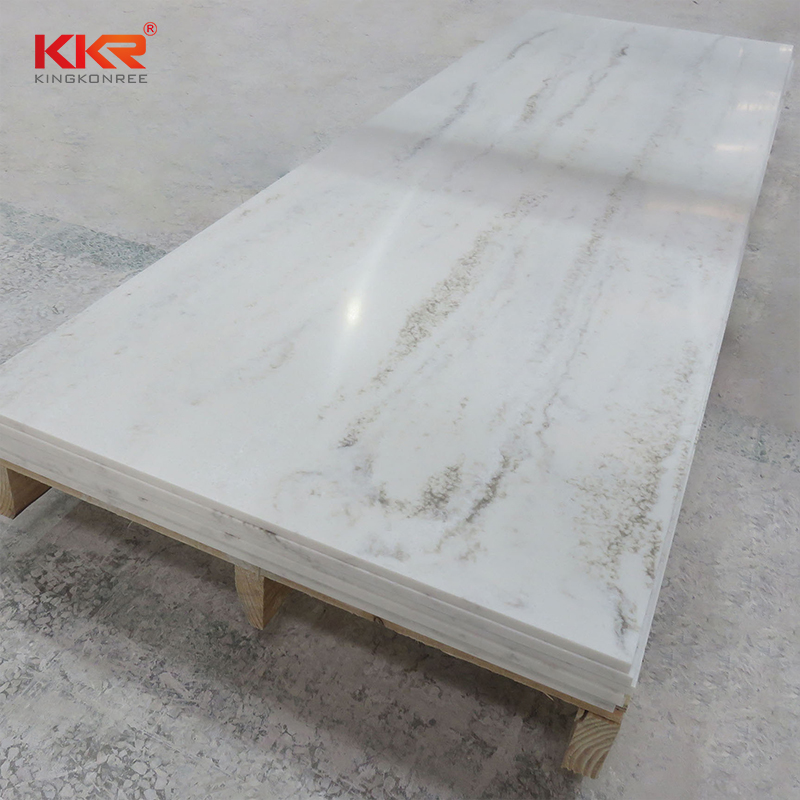 KKR Stone high strength solid surface slab factory for bar table-1