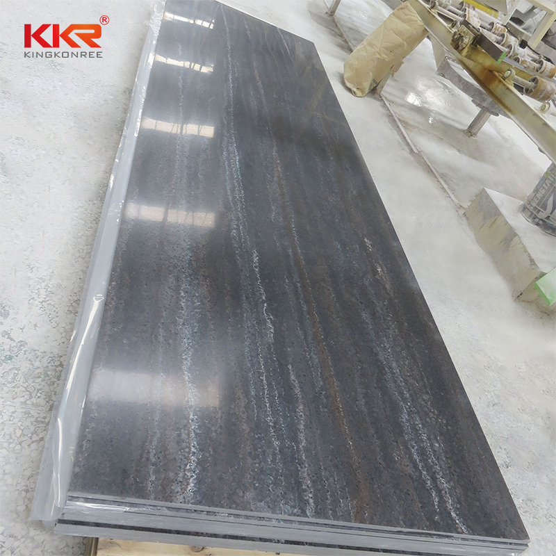 KKR Stone white marble solid surface vendor for school building-2