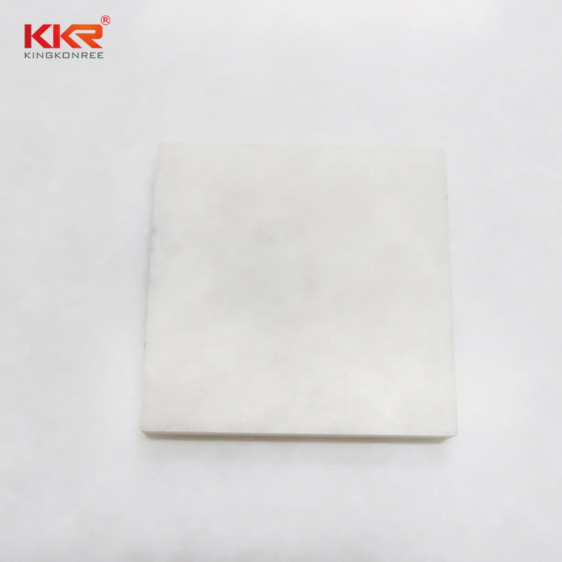 non-polluting translucent solid surface material yellow directly sale for entertainment-1