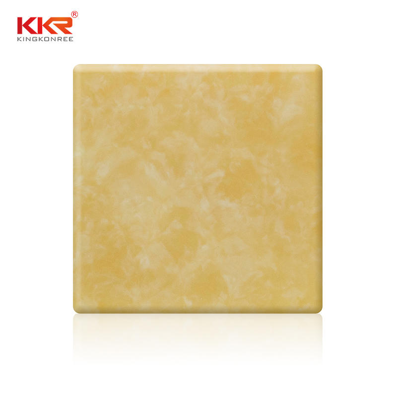Closuds Pattern Translucent Soild Surface Sheet KKR-A005