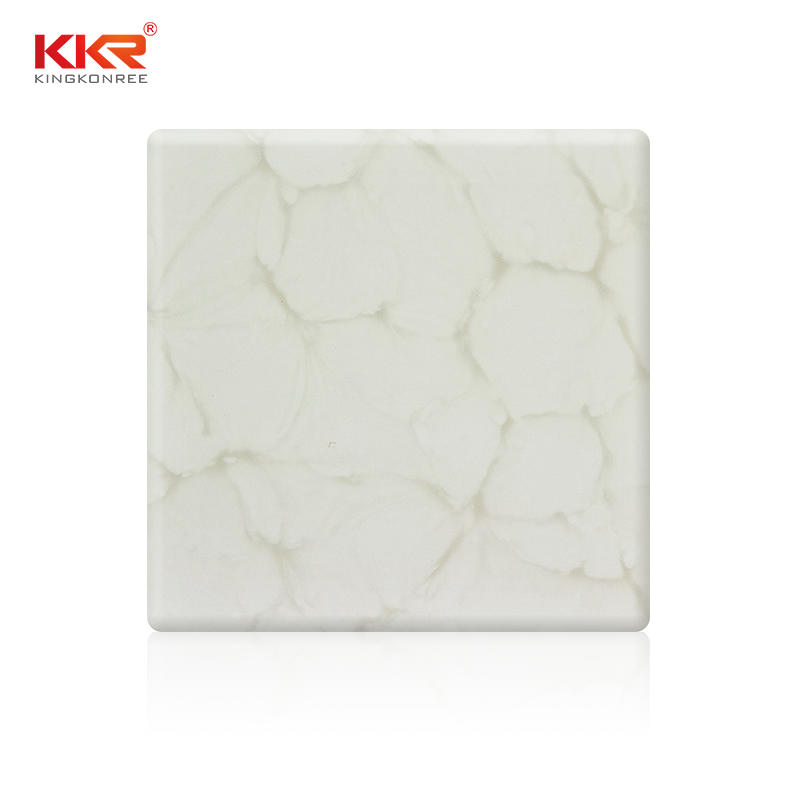 Hot Sales Unique Pattern Translucent Solid Surface Sheets KKR-A028