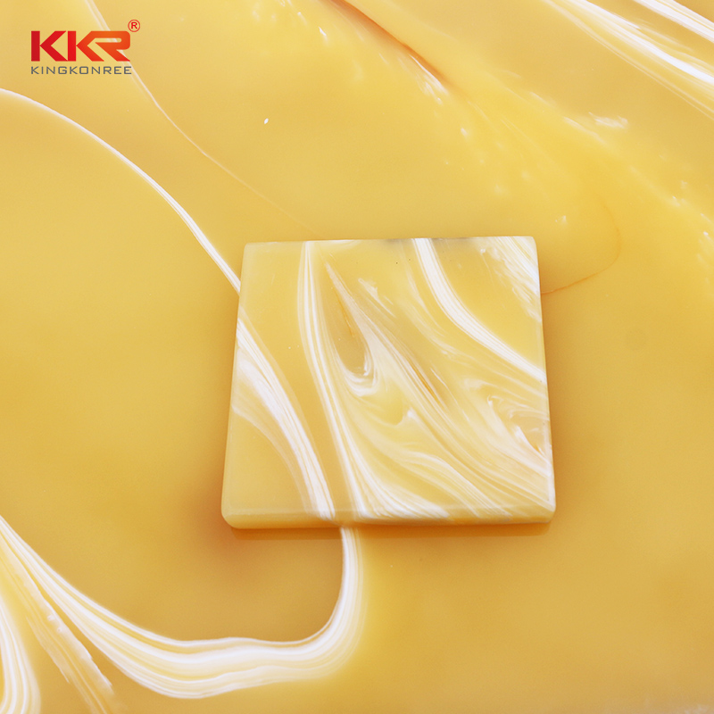 KKR Stone luxury translucent solid surface material factory price for bar table-1