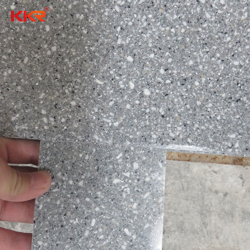 KKR Stone solid acrylic solid surface sheet for building-2
