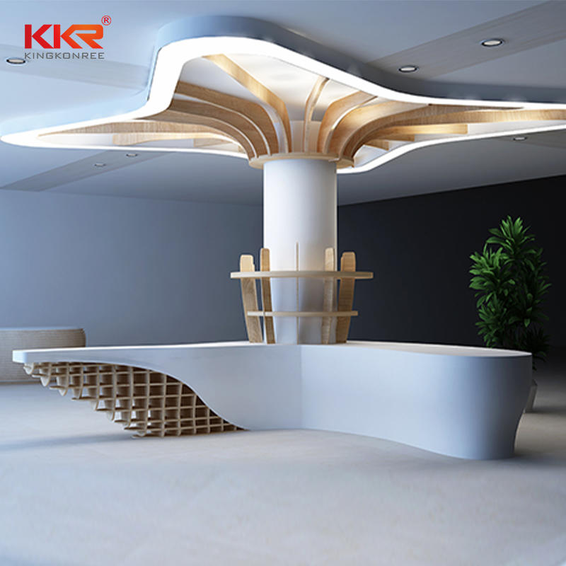 KKR Customized Solid Surface Office Desk 1