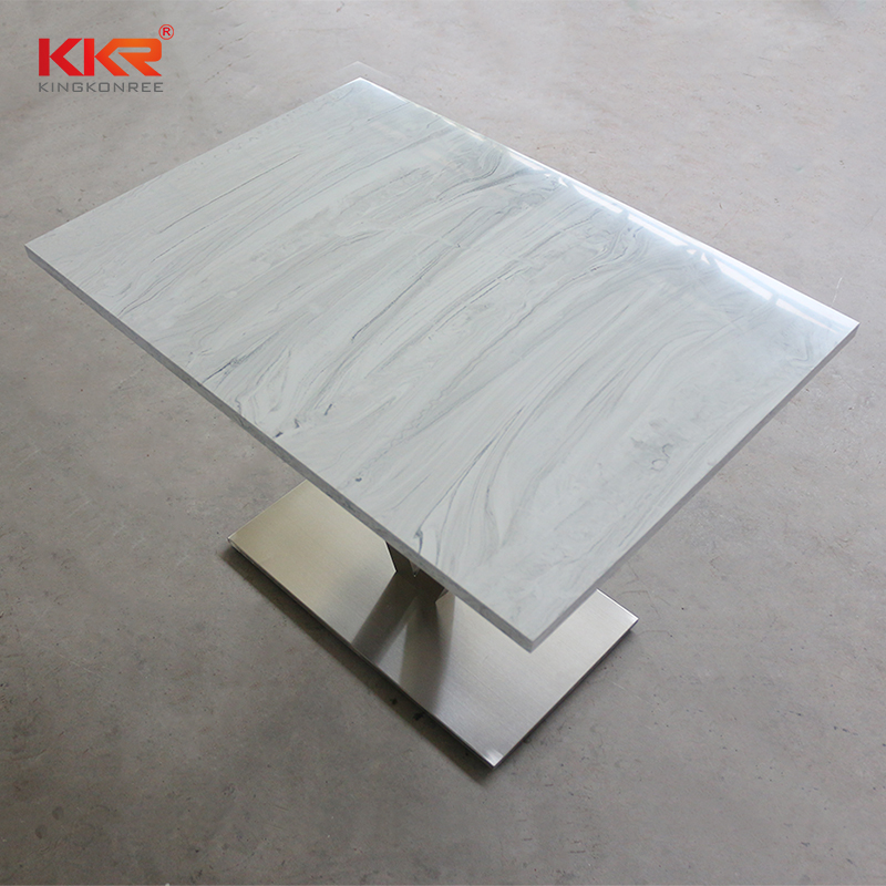 countertops artificial stone dining table counter KKR Stone-1