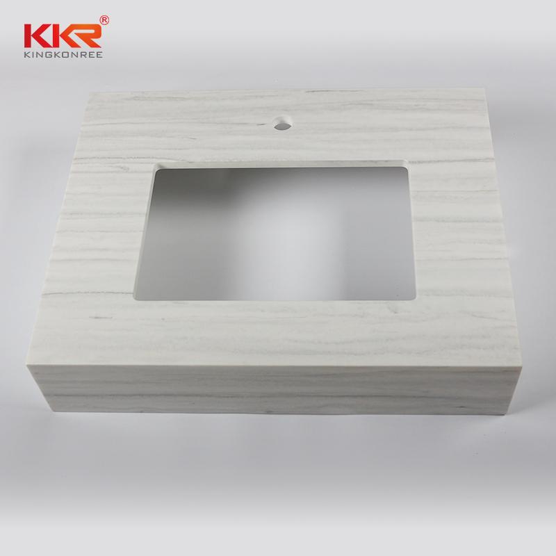 KKR Stone pattern vanity top bathroom supplier for kitchen tops-2