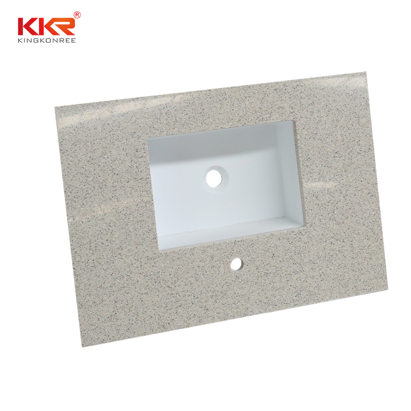 artificial acrylic countertops long-term-use for entertainment KKR Stone-1