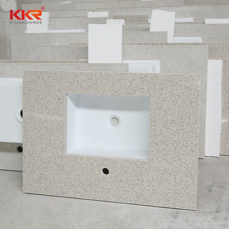 pattern solid surface bathroom countertops solid China for early education-2