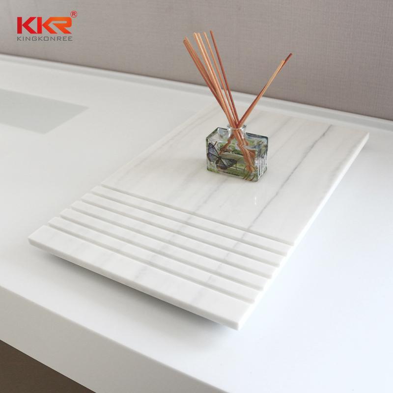 KKR Stone double Sink bathroom wall shelves buy now for living room-2
