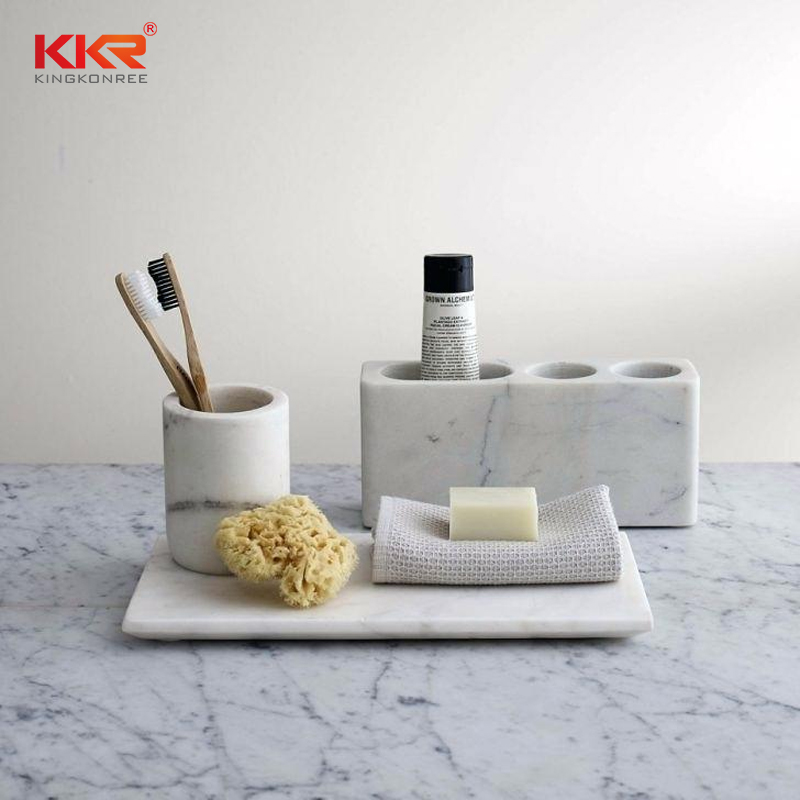 KKR Stone pattern bathroom shelves  manufacturer for home-1