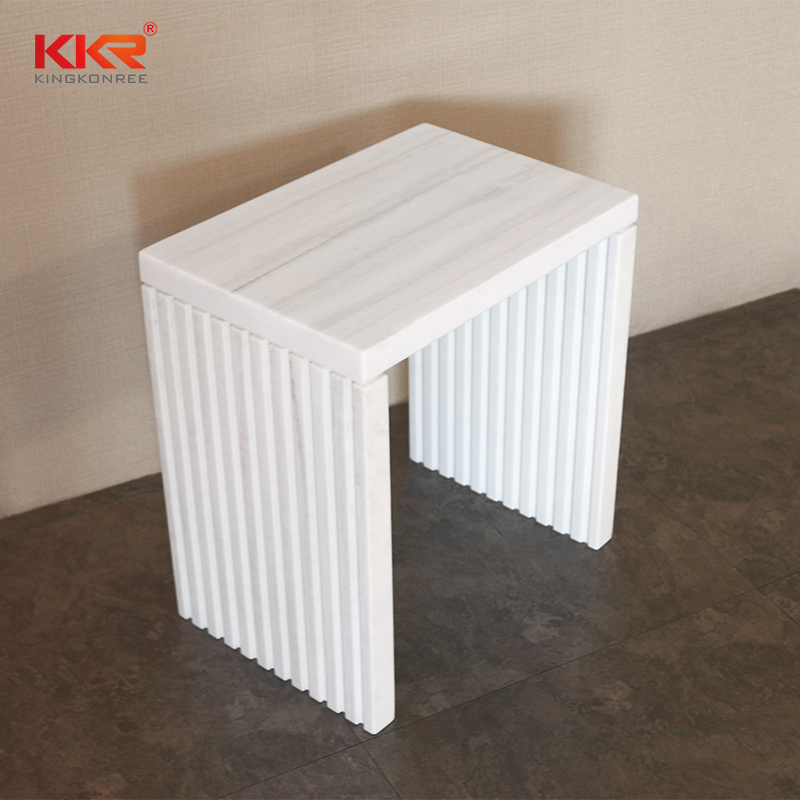 KKR Stone acrylic wall shelf in different shape for home-1