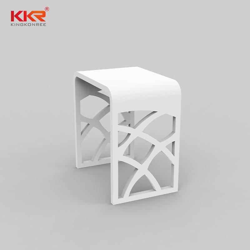 KKR Stone plexiglass shelves wholesale for living room-1