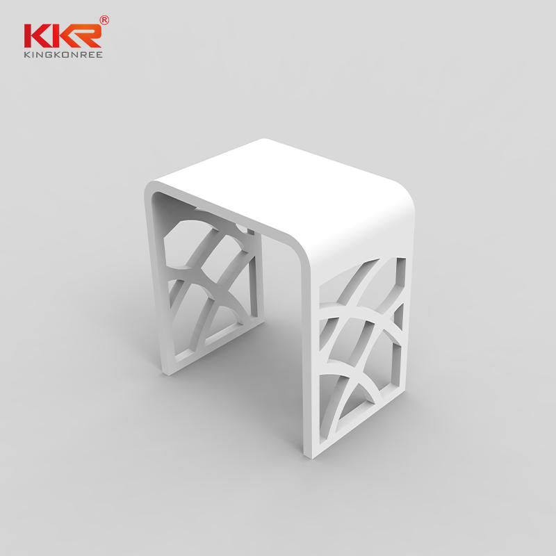 KKR Stone plexiglass shelves wholesale for living room-2