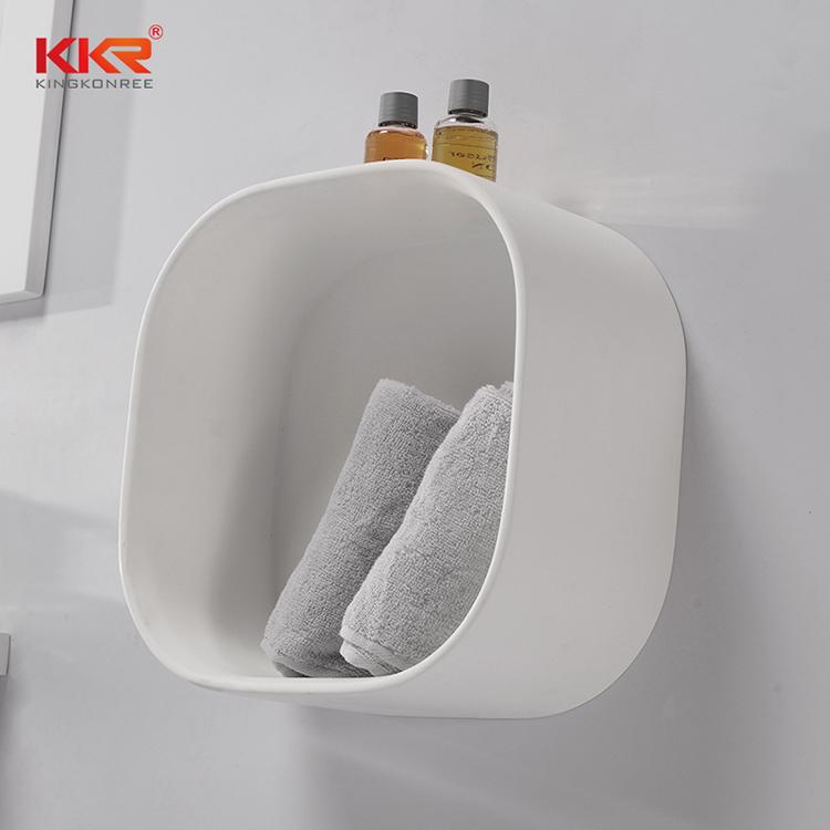 KKR Stone bathroom stool in different shape for living room-1
