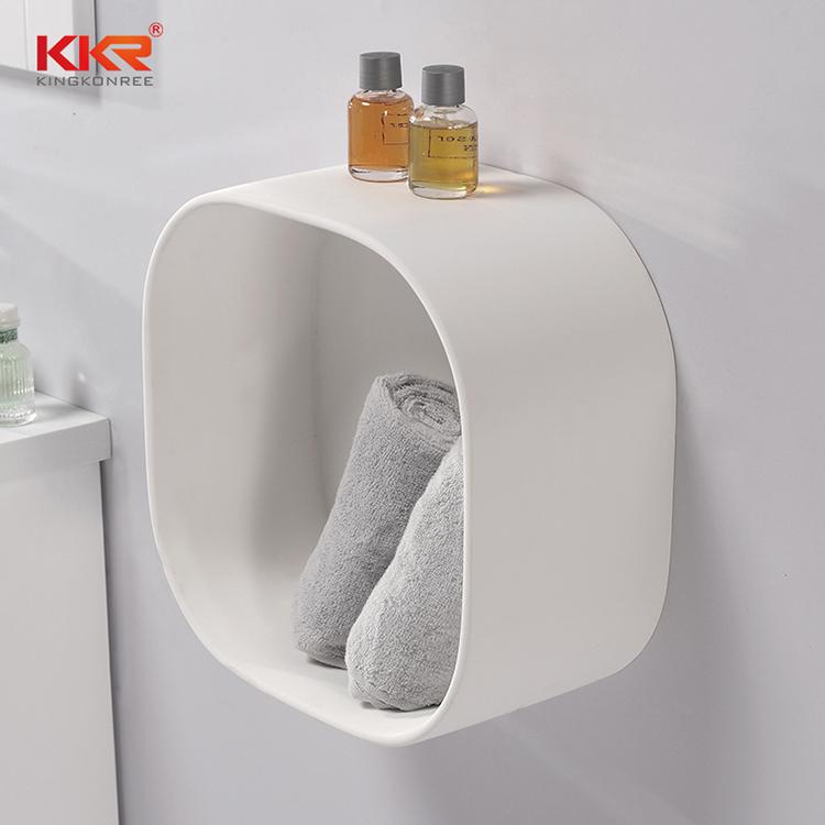 KKR Stone bathroom stool in different shape for living room-2