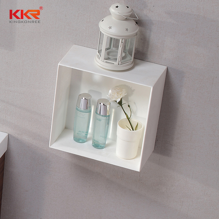 custom-made acrylic bathroom shelf factory for hotel-2