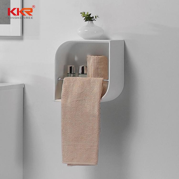 artificial bathroom wall shelves supply for home-2