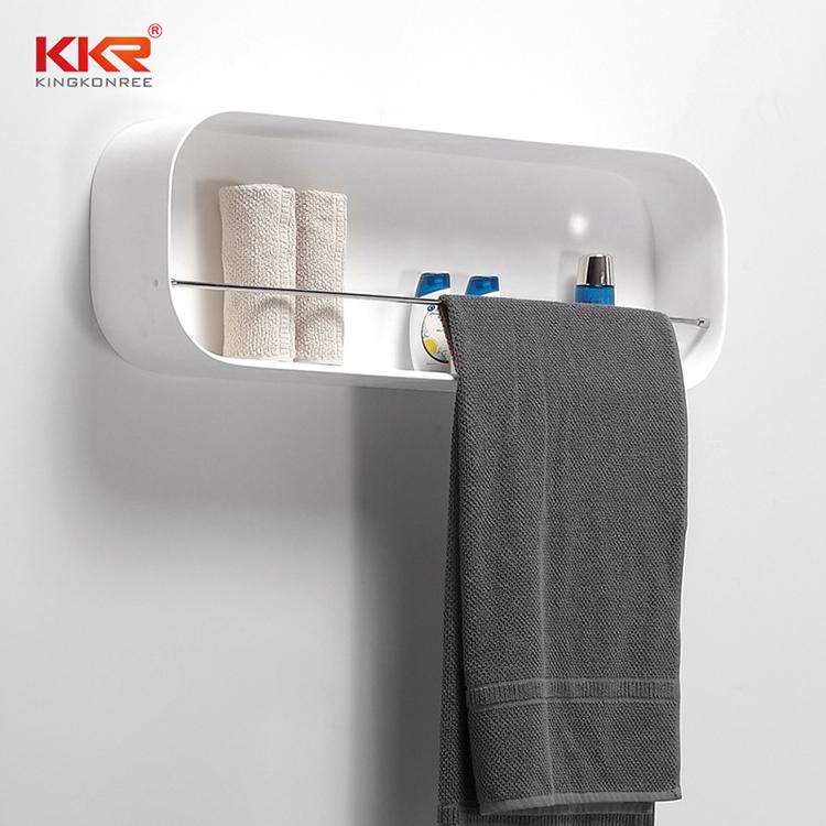 artificial bathroom shelves supply for bathroom-2