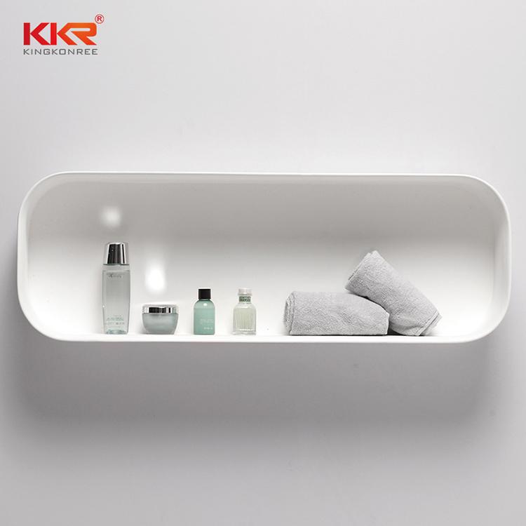 artificial plexiglass shelves in different shape for living room-2