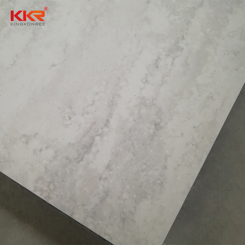 KKR Stone pollution free corian solid surface sheet factory furniture set-2