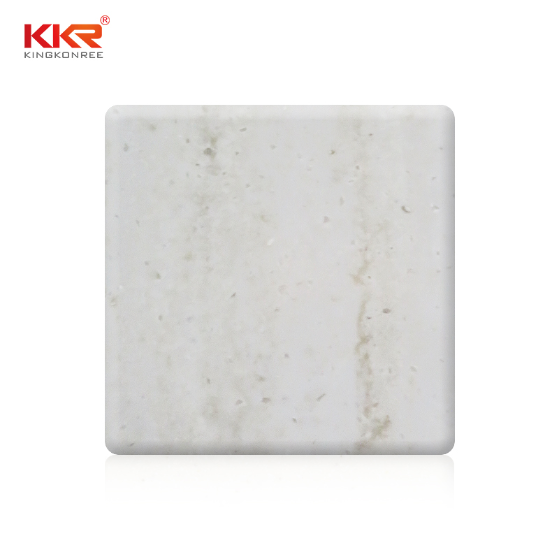 KKR Stone marble veining pattern solid surface wholesale furniture set-1