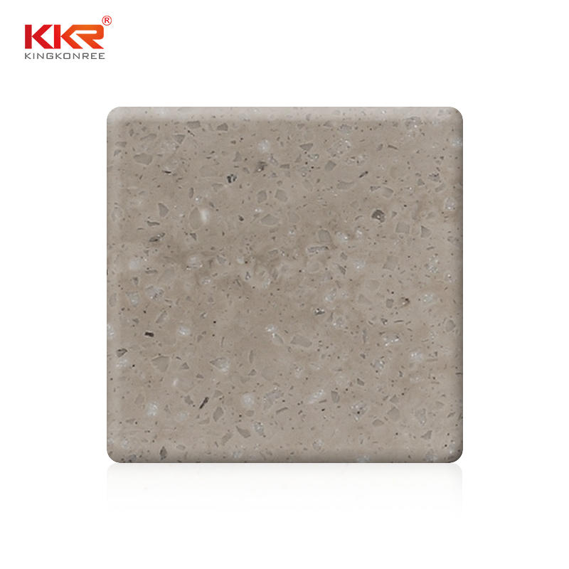 3660mm Length Artificial Stone Marble Color Solid Surface Sheet KKR-M6804