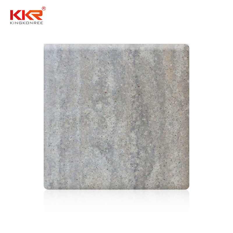 KKR Stone pollution free marble solid surface  manufacturer for school building-1