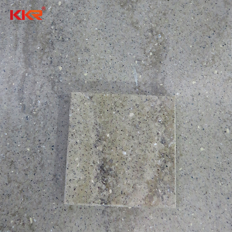 KKR Stone pollution free marble solid surface  manufacturer for school building-2