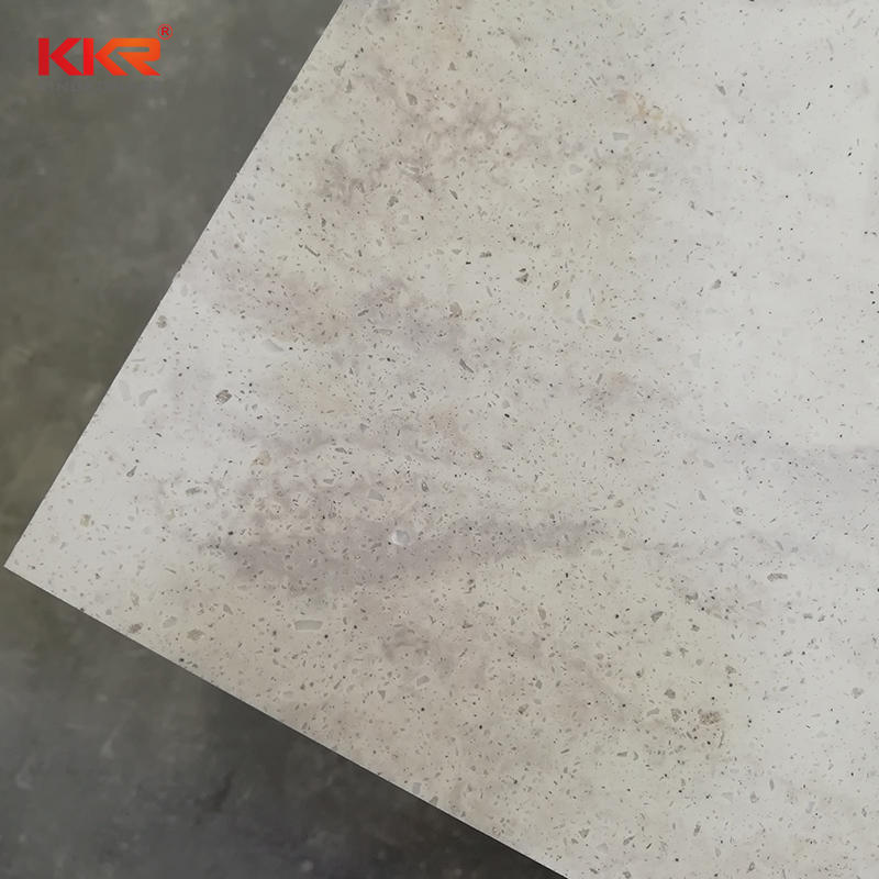 Hot Sales Acrylic Resin Stone Texture Solid Surface Sheets KKR-M6810