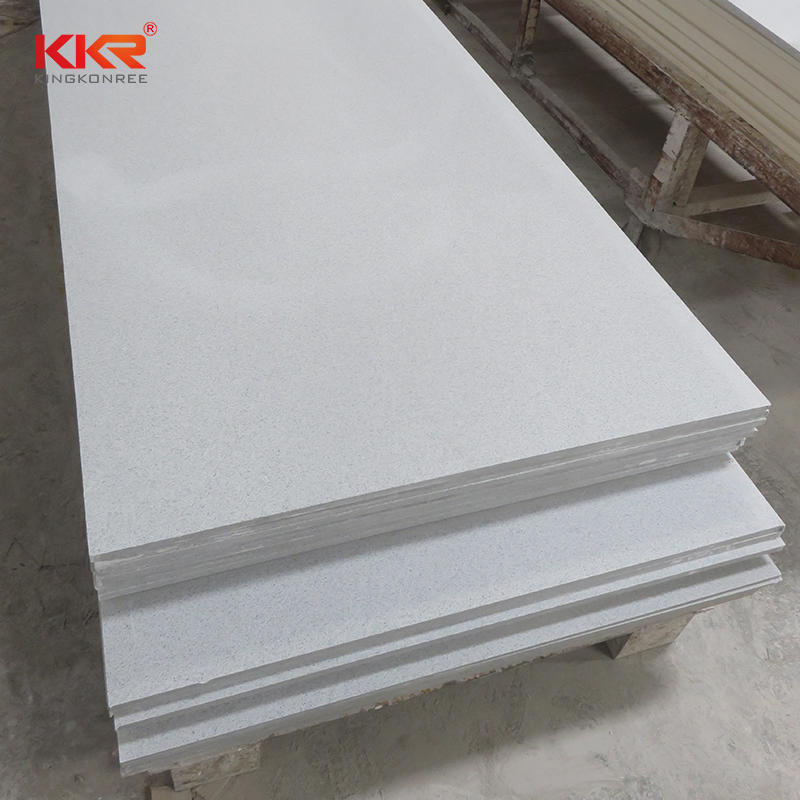 Dust Color Modified Acrylic Solid Surface Sheet KKR-M1650