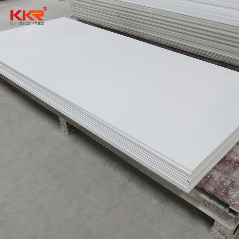 KKR Stone sheets solid surface free design for kitchen tops-2